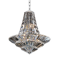 Allegri 11424-010-FR001 Auletta 12 Light 30 inch Chrome Chandelier Ceiling Light