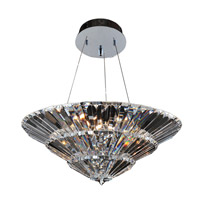 Auletta 15 Light 30 inch Chrome Convertible Pendant Ceiling Light