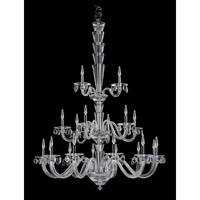 Allegri Fanshawe 21 Light Chandelier in Chrome with Firenze Clear Crystals 11520-010-FR001