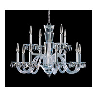Fanshawe 12 Light 33 inch Chrome Chandelier Ceiling Light in Firenze Clear