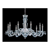 Allegri Fanshawe 9 Light Chandelier in Chrome with Firenze Clear Crystals 11529-010-FR001
