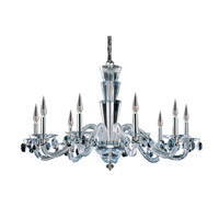 Allegri 11529-010-FR001 Fanshawe 9 Light 39 inch Chrome Chandelier Ceiling Light in Firenze Clear