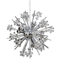 Constellation 10 Light 19 inch Chrome Pendant Ceiling Light