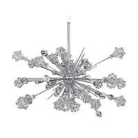 Constellation 30 Light 36 inch Chrome Chandelier Ceiling Light