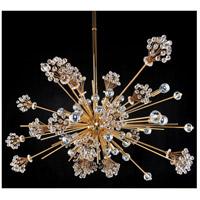 Allegri 11635-018-FR001 Constellation 30 Light 47 inch 18K Gold Pendant Ceiling Light