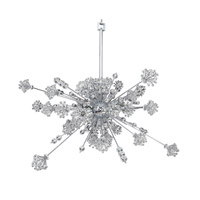 Allegri Constellation 30 Light Pendant in Chrome with Firenze Clear Crystals 11635-010-FR001