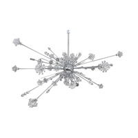 Allegri Constellation 46 Light Pendant in Chrome with Firenze Clear Crystals 11638-010-FR001