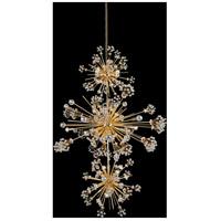 Allegri 11639-018-FR001 Constellation 50 Light 36 inch 18K Gold Pendant Ceiling Light