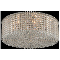 Allegri 11659-010-FR001 Milieu Metro 8 Light 22 inch Chrome Flush Mount Ceiling Light