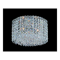 Allegri Millieu-Metro 3 Light Flush Mount in Chrome with Firenze Clear Crystals 11663-010-FR001