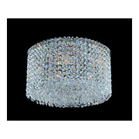 Allegri Millieu-Metro 5 Light Flush Mount in Chrome with Firenze Clear Crystals 11664-010-FR001