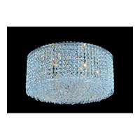 Allegri Millieu-Metro 8 Light Flush Mount in Chrome with Firenze Clear Crystals 11665-010-FR001