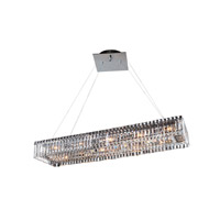 Allegri 11709-010-FR001 Baguette 12 Light 12 inch Chrome Pendant Ceiling Light