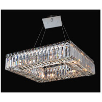 Allegri 11710-010-FR001 Quadro 8 Light 48 inch Chrome Pendant Ceiling Light photo thumbnail