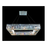 Allegri Quantum Quadro 12 Light Pendant in Chrome with Firenze Clear Crystals 11711-010-FR001
