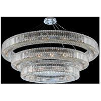 Allegri 11714-010-FR001 Rondelle 48 Light 60 inch Chrome Pendant Ceiling Light