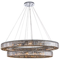 Allegri 11720-010-FR001 Rondelle 36 Light 60 inch Polished Chrome Pendant Ceiling Light