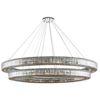 Allegri 11722-010-FR001 Rondelle 44 Light 84 inch Polished Chrome Pendant Ceiling Light
