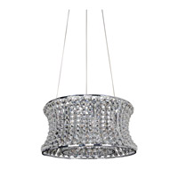 Allegri 11730-010-FR001 Corsette 6 Light 16 inch Chrome Pendant Ceiling Light