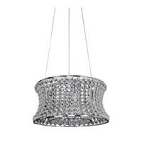 Allegri 11730-010-FR001 Corsette 6 Light 16 inch Chrome Pendant Ceiling Light
