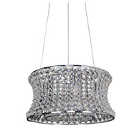 Allegri 11731-010-FR001 Corsette 8 Light 25 inch Chrome Pendant Ceiling Light