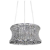 Allegri 11731-010-FR001 Corsette 8 Light 24 inch Chrome Pendant Ceiling Light