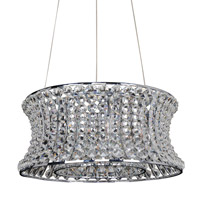 Allegri 11732-010-FR001 Corsette 12 Light 32 inch Chrome Pendant Ceiling Light