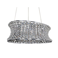 Allegri 11733-010-FR001 Corsette 12 Light 18 inch Chrome Pendant Ceiling Light