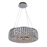 Arche 6 Light 24 inch Chrome Pendant Ceiling Light
