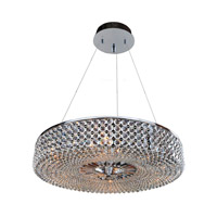 Arche 9 Light 32 inch Chrome Pendant Ceiling Light