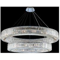 Allegri 11773-010-FR001 Rondelle 30 Light 47 inch Chrome Pendant Ceiling Light