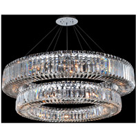 Allegri 11774-010-FR001 Rondelle 21 Light 36 inch Chrome Pendant Ceiling Light
