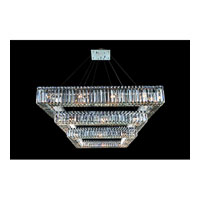 Allegri Quantum Quadro 36 Light Chandelier in Chrome with Firenze Clear Crystals 11780-010-FR001