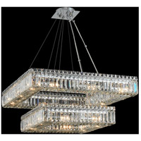Quadro 20 Light 38 inch Chrome Pendant Ceiling Light