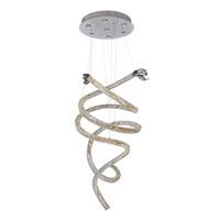 Allegri 11805-010-FR001 Ravina LED 24 inch Chrome Chandelier Ceiling Light in Firenze Clear
