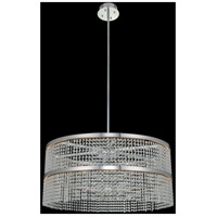 Allegri 036257-010-FR001 Cortina LED 34 inch Chrome Pendant Ceiling Light