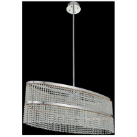 Allegri 036261-010-FR001 Cortina LED 44 inch Chrome Island Ceiling Light