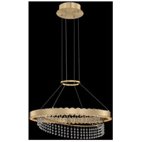 Allegri 036355-039-FR001 Saturno LED 20 inch Brushed Brass Pendant Ceiling Light