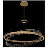 Allegri 036357-039-FR001 Saturno LED 36 inch Brushed Brass Pendant Ceiling Light