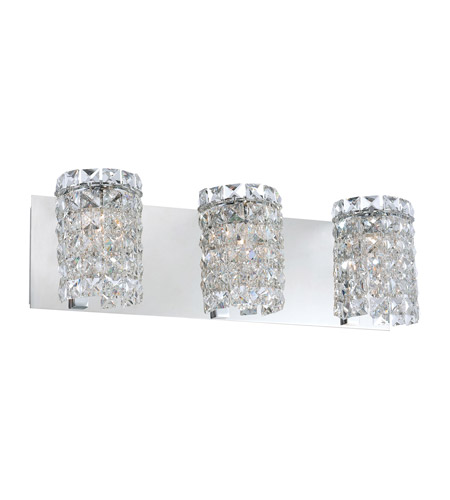 Alico BV1303-0-15 Queen 3 Light 20 inch Chrome Vanity Wall Light photo