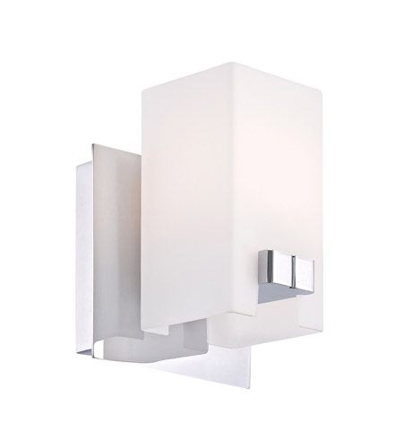 Alico BV3321-10-15 Gemelo 1 Light 5 inch Chrome Vanity Wall Light photo