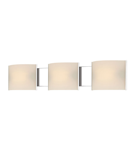 Alico BV713-10-15 Pannelli 3 Light 30 inch Chrome Vanity Wall Light photo