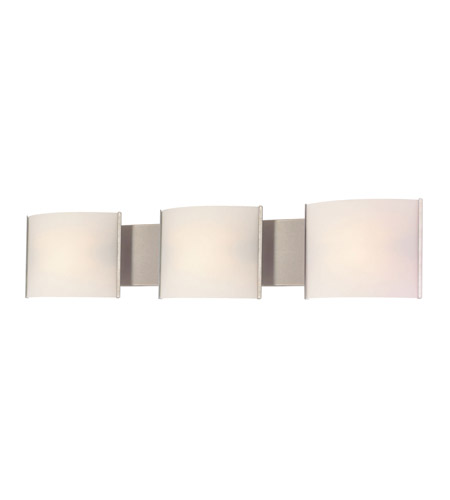 Alico BV713-10-16 Pannelli 3 Light 30 inch Stainless Steel Vanity Wall Light photo