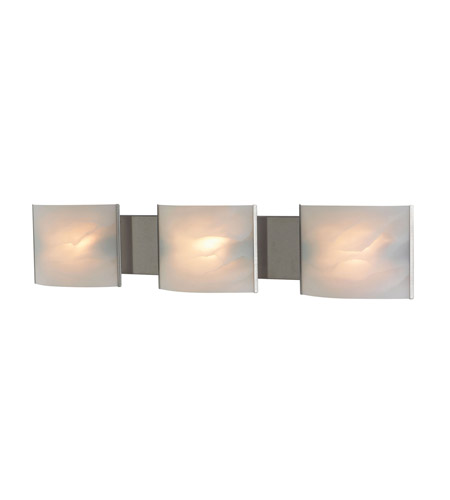Alico BV713-6-16 Pannelli 3 Light 30 inch Stainless Steel Vanity Wall Light photo