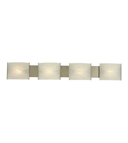 Alico BV714-6-16 Pannelli 4 Light 41 inch Stainless Steel Vanity Wall Light photo