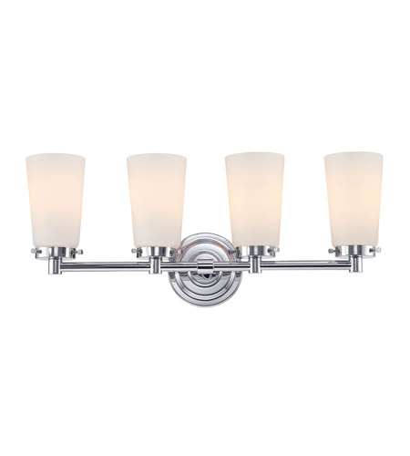 Alico BV7T4-10-15 Madison 4 Light 23 inch Chrome Vanity Wall Light photo