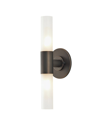 Alico BV820-10-45 Cylinder 2 Light 5 inch Oil Rubbed Bronze Vanity Wall Light photo