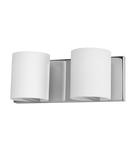 Alico BV862-10-15 Enterprise 2 Light 12 inch Chrome Vanity Wall Light photo