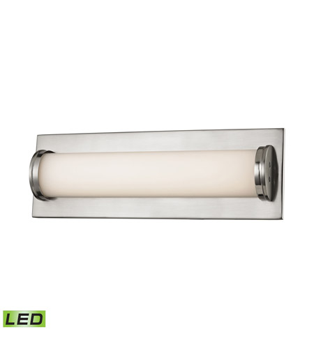 Alico BVL372-10-16M Barrie LED 14 inch Matte Satin Nickel Wall Sconce Wall Light photo