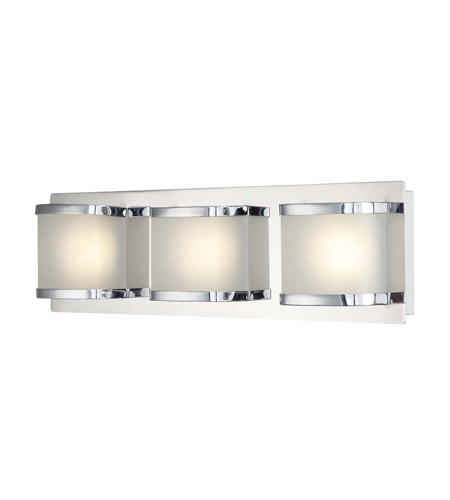 Alico BVL4003-10-15 Bandeau LED 18 inch Chrome Vanity Wall Light photo